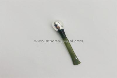 Metal applicator for eye cream