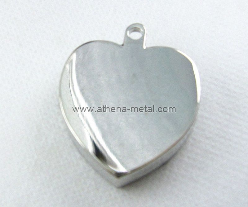 Heart Metal Solid Perfume Case